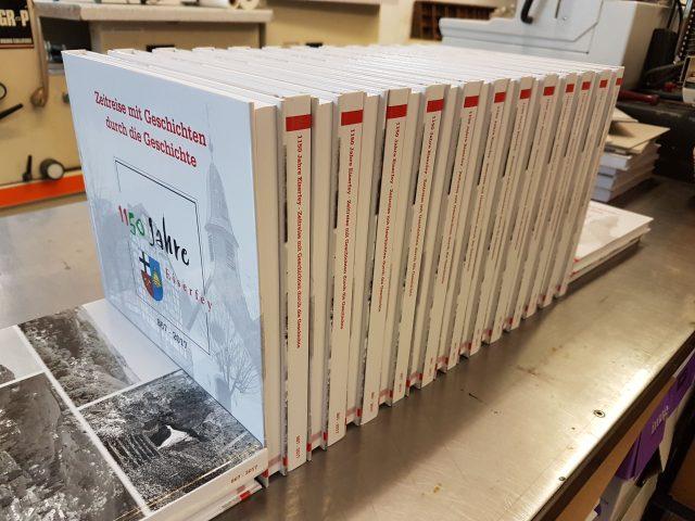 Buchprojekt Hardcoverbindung