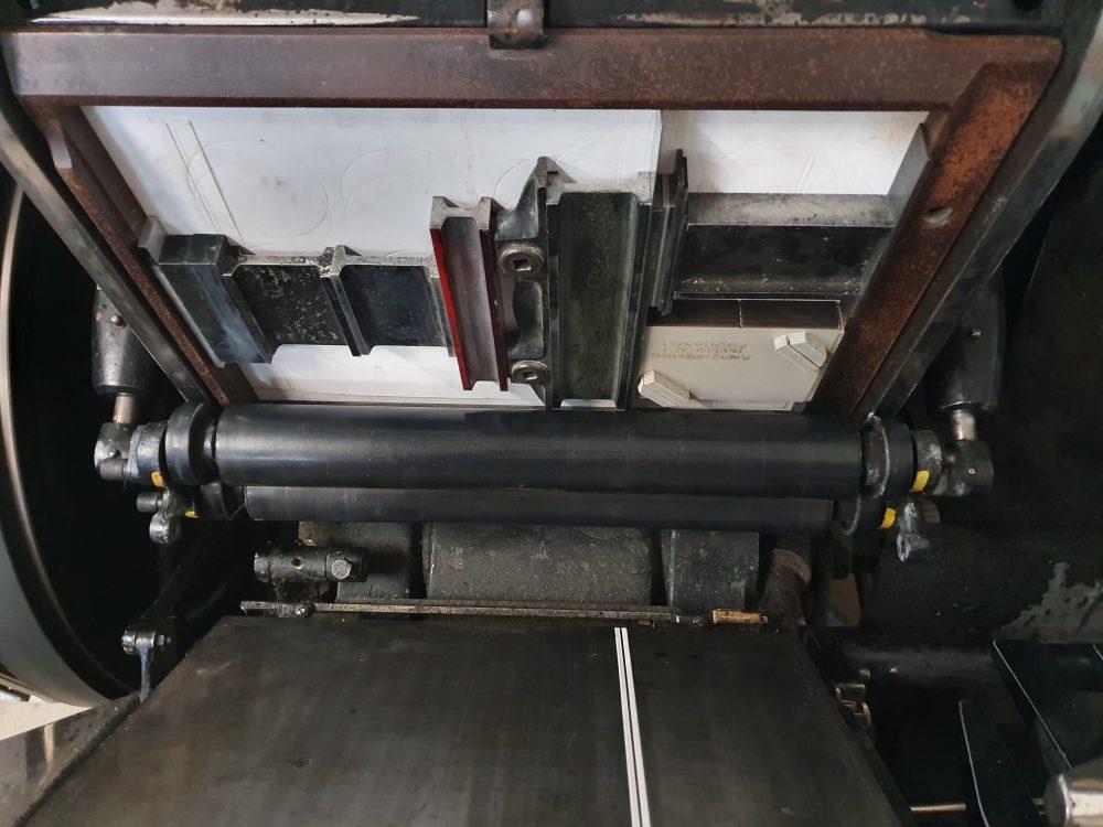 Heidelberger Tiegel Hochdruckpresse von 1961